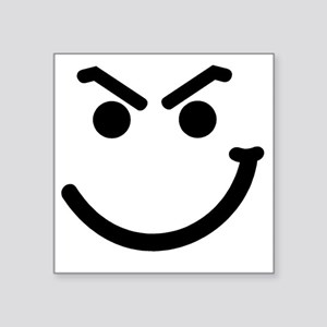 """HANDSMIRK Square Sticker 3"""" x 3"""""""
