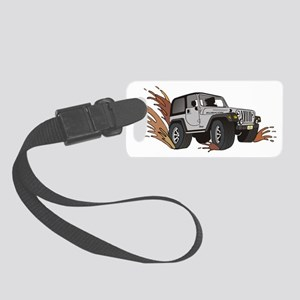 jeep ribicon. Small Luggage Tag