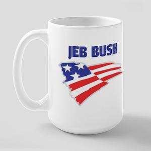 Fun Flag: JEB BUSH Large Mug