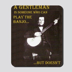 A Gentleman Mousepad