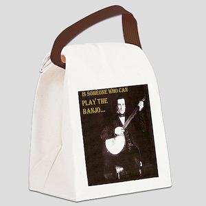 A Gentleman Canvas Lunch Bag
