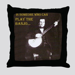 A Gentleman Throw Pillow