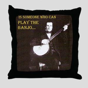 A Gentleman Throw Pillow