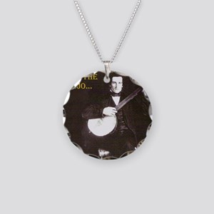 A Gentleman Necklace Circle Charm