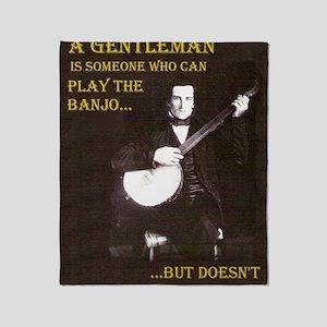A Gentleman Throw Blanket