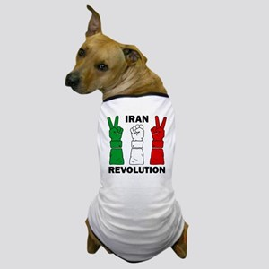 IranRevolution-clear Dog T-Shirt