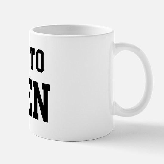 Belongs to Landen Mug