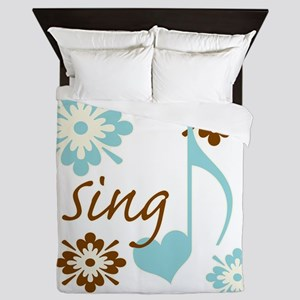 sing3 Queen Duvet