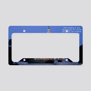 capital License Plate Holder