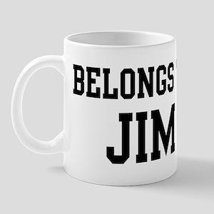 Belongs to Jim Mug