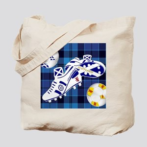 Scotland Football Strathclyde Tartan 9x7 Tote Bag
