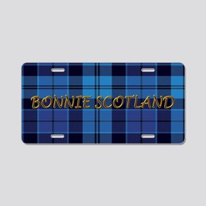 Bonnie Scotland Strathclyde Aluminum License Plate
