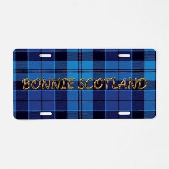 Bonnie Scotland Strathclyde Aluminum License Plate