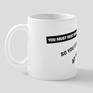 must rest Mug