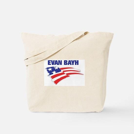 Fun Flag: EVAN BAYH Tote Bag