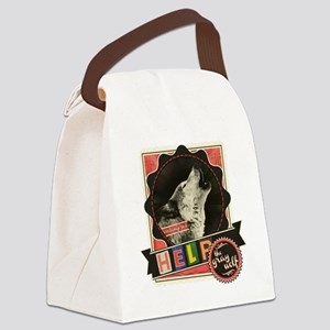Endangered-gray-wolf-1 Canvas Lunch Bag