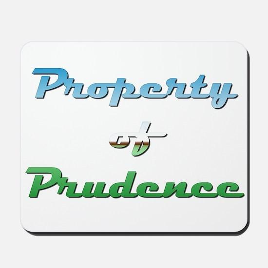 Property Of Prudence Female Mousepad