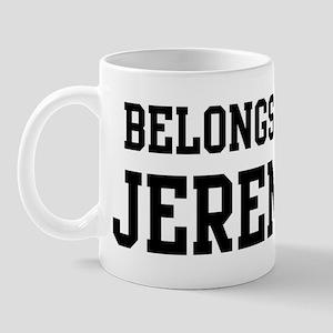 Belongs to Jeremy Mug