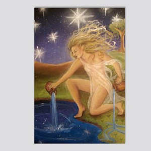 The_Star_Tarot Postcards (Package of 8)