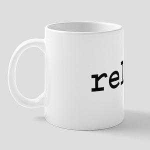relax. Mug
