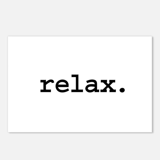 relax. Postcards (Package of 8)