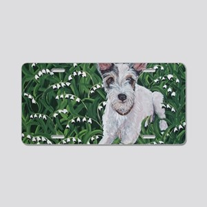 4x6JackRussell Aluminum License Plate