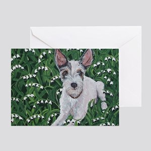 Mousie JackRussell Greeting Card