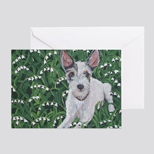 MouseLite JackRussell Greeting Card