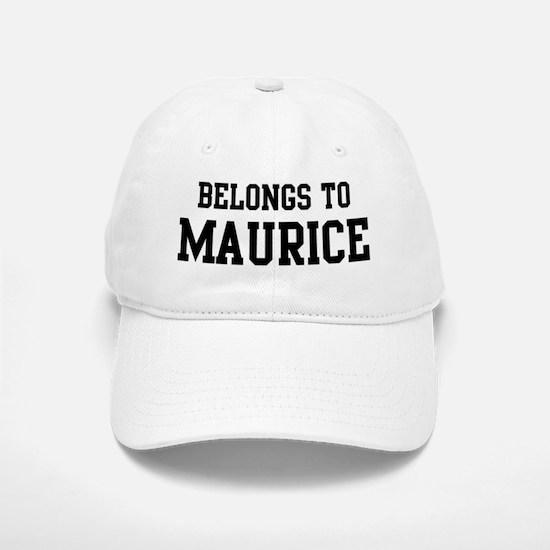 Belongs to Maurice Baseball Baseball Cap