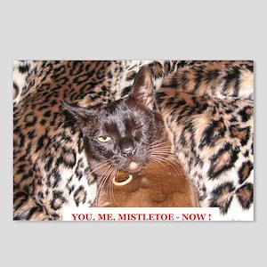 IMG_0284_KI_sq2_txt Postcards (Package of 8)