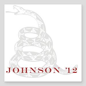 "johnson Square Car Magnet 3"" x 3"""