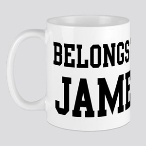 Belongs to James Mug