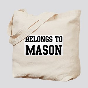 Belongs to Mason Tote Bag