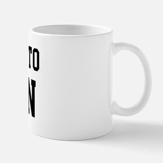 Belongs to Ruben Mug