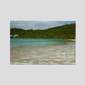 Caribbean, U.S. Virgin Islands, S Rectangle Magnet