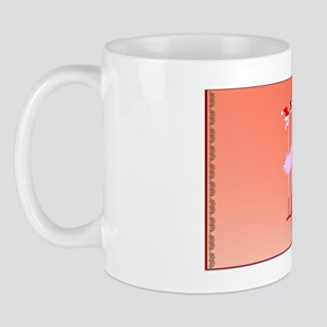CoinPurse Three Pink Flamingos Mug