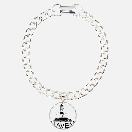 Unofficial Haven Logo Wh Bracelet