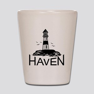 Unofficial Haven Logo Colored Shot Glass