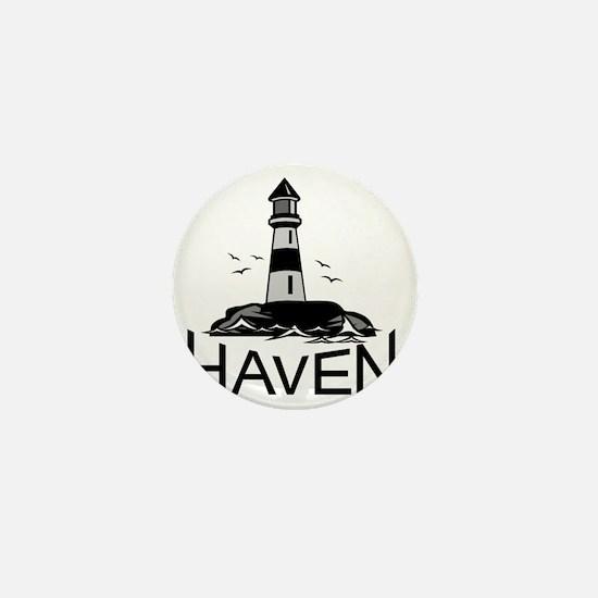 Unofficial Haven Logo Colored Mini Button