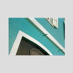 Charlotte Amalie Historic Distric Rectangle Magnet