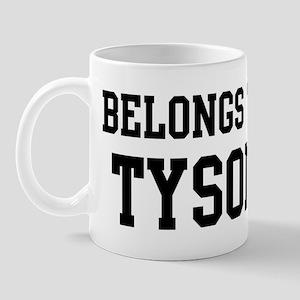 Belongs to Tyson Mug
