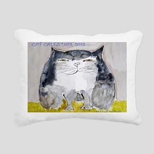Front Page Calendar Rectangular Canvas Pillow