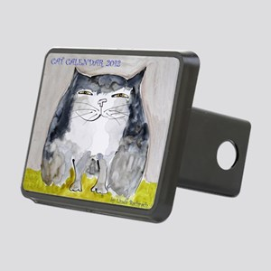 Front Page Calendar Rectangular Hitch Cover