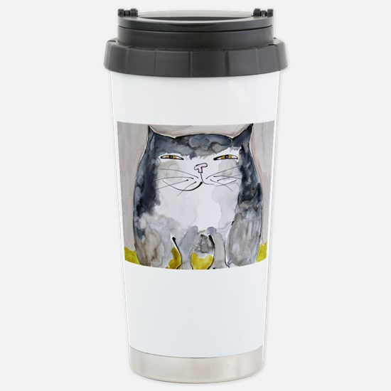 Front Page Calendar Stainless Steel Travel Mug