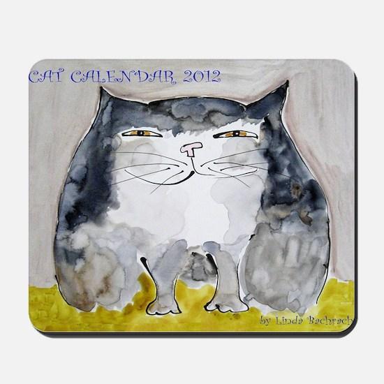 Front Page Calendar Mousepad
