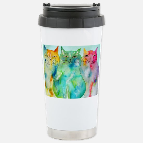 Haleiwa Cats 250 Stainless Steel Travel Mug