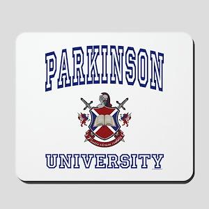 PARKINSON University Mousepad