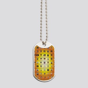 Founders of Science 23x35 RGB Dog Tags