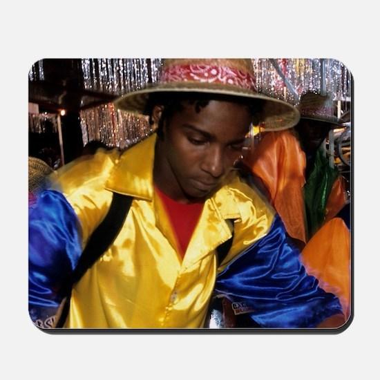 Steel pan carnival in Trinidad Mousepad