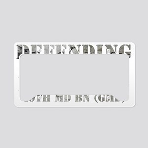 49th copy License Plate Holder